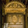 Santa Cecilia, nagrobek kardynała Forteguerriego, częściowo wykonany przez Mino da Fiesole