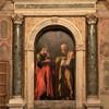 Basilica of Santa Cecilia, Altar of SS. Peter and Paul, Giovanni Baglione