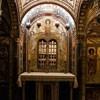 Santa Cecilia, podziemia bazyliki, krypta - ołtarz św. Cecylii, XX w.