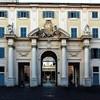 Santa Cecilia, trakt wejściowy z XVIII w. prowadzący do atrium kościoła