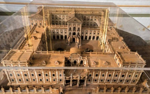 Palazzo Corsini, residence of Queen Christina, model