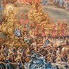 Parade at Palazzo Barberini for the occasion of the arrival of the Queen of Sweden Christina in Rome, fragment, F. Gagliari, F. Lauri, 1659, Museo di Roma, Palazzo Barberini