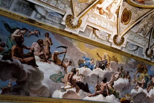 Giovanni Lanfranco, fresk Sąd bogów, Galleria Borghese