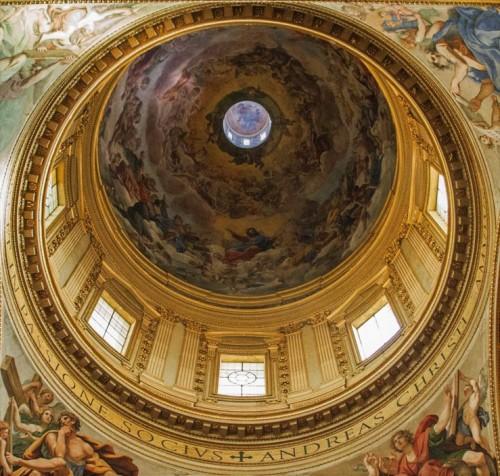 Giovanni Lanfranco, freski kopuły bazyliki Sant'Andrea della Valle