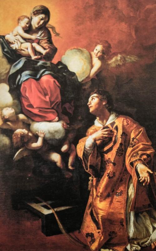 Giovanni Lanfranco, Madonna objawiająca się św. Wawrzyńcowi, Palazzo Quirinale