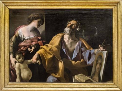 Giovanni Lanfranco, Św. Łukasz uzdrawiający chore dziecko, Galleria Nazionale d'Arte Antica, Palazzo Barberini