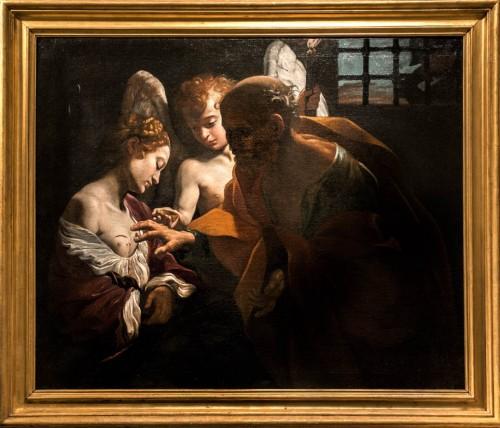 Giovanni Lanfranco, Św. Piotr uzdrawiający św. Agatę w więzieniu, Galleria Nazionale d'Arte Antica, Palazzo Corsini
