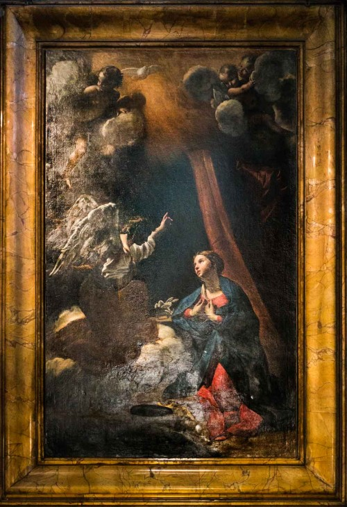 Giovanni Lanfranco, Zwiastowanie, kościół San Carlo ai Catinari