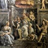 Papież Leon I, freski w Sali Konstantyna, Giulio Romano, pałac Apostolski, Musei Vaticani