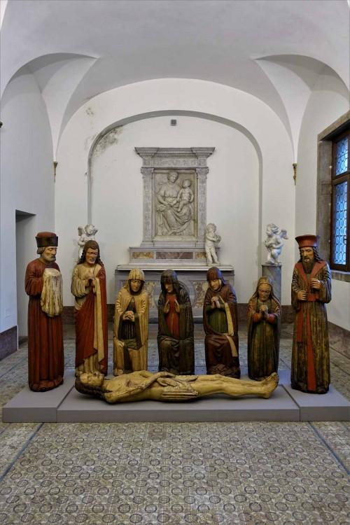 Kaplica Leona X w zamku Sant'Angelo, wyposażenie  nieoryginalne