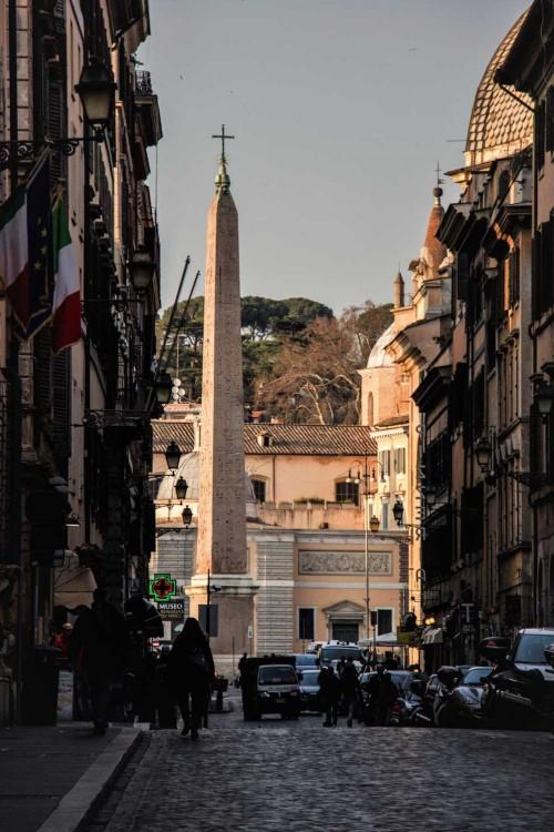 Via Ripetta (the former via Leonina)