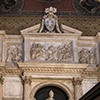 Funerary monument of Pope Leo X in the presbytery of the Basilica of Santa Maria sopra Minerva