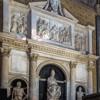 Pomnik nagrobny papieża Leona X w prezbiterium bazyliki Santa Maria sopra Minerva