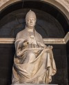 Funerary monument of Pope Leo X in the presbytery of the Basilica of Santa Maria sopra Minerva, fragment