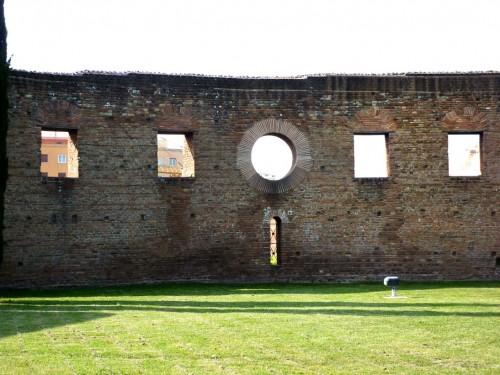 Fragment absydy bazyliki cmentarnej Sant'Agnese