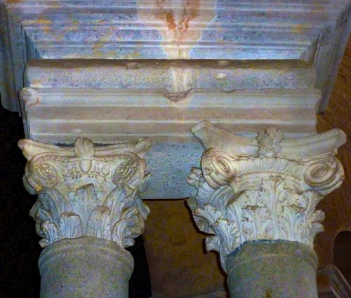 Santa Constanza, columns supporting the tambour, detail