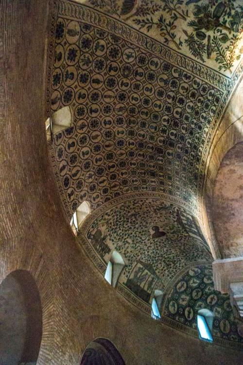 Santa Constanza, mozaiki dawnego mauzoleum