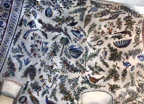 Santa Constanza, mozaiki obejścia z IV w.