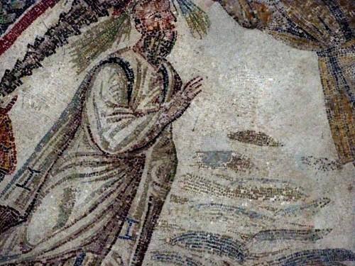Santa Constanza, nisza - fragment z przedstawieniem św. Pawła