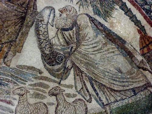 Santa Constanza, nisza - mozaika z przedstawieniem św. Piotra