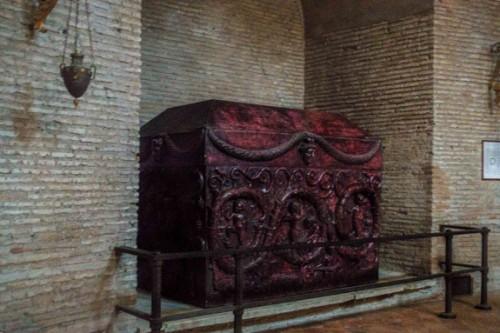 Santa Constanza, sarkofag Konstantyny (kopia)