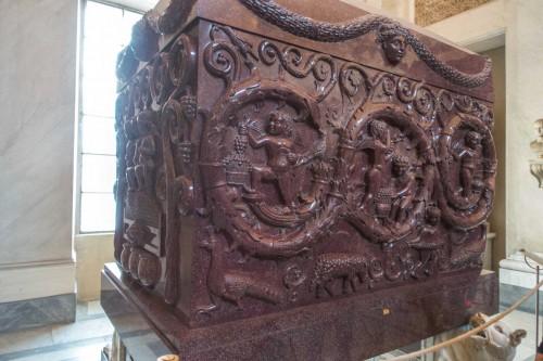 Sarcophagus of Constantina, Musei Vaticani