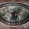 Santa Constanza, mozaiki chrześcijańskie - Chrystus jako władca świata ze św. Piotrem