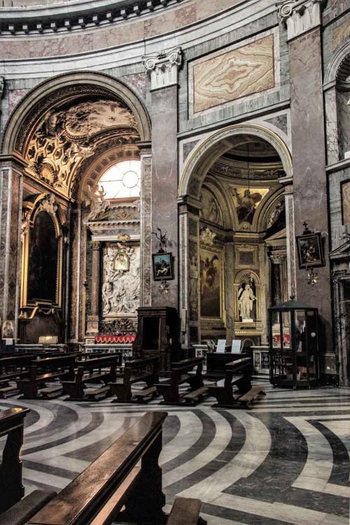 San Giacomo in Augusta, eliptyczne wnętrze, Francesco da Volterra