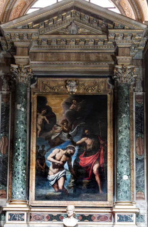 San Giacomo in Augusta, kaplica św. Józefa, Chrzest Chrystusa, Passignano
