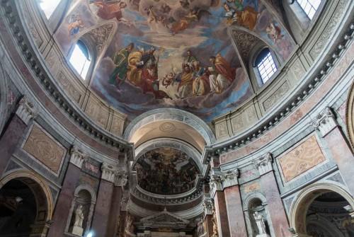 San Giacomo in Augusta, kopuła i zwieńczenie absydy ołtarza głównego