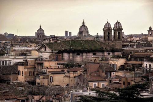 San Giacomo in Augusta, widok ze wzgórza Pincio