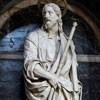 San Giacomo in Augusta, figura św. Jakuba, Ippolito Buzzi