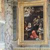 San Giacomo in Augusta, kaplica św. Rozalii, Adoracja pasterzy - Antiveduto Grammatica