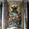 San Giacomo in Augusta, ołtarz główny - Trójca Święta, Francesco Grandi