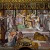 San Girolamo dei Croati, malowidło chóru, Przyjęcie święceń kapłańskich przez Hieronima, Pietro Gagliardi