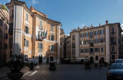 Piazza di Sant'Ignazio przed kościołem Sant'Ignazio