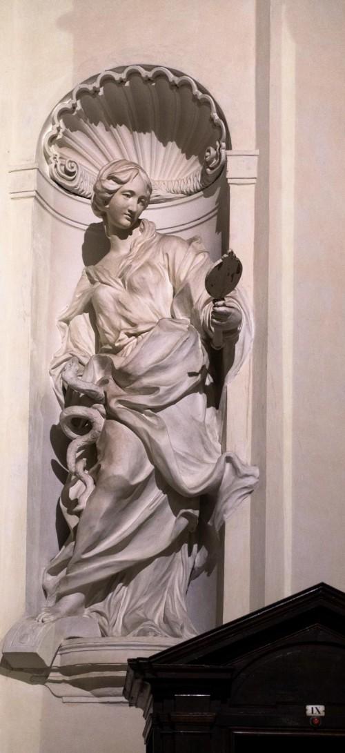 Sant'Ignazio, alegoria Roztropności (Prudenza), Camillo Rusconi, kaplica Ludovisi