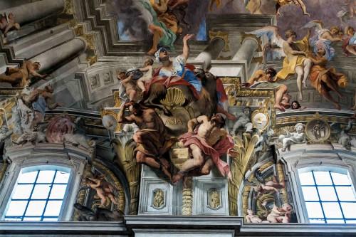 Sant'Ignazio, personifikacja Azji, fragment malowidła na sklepieniu