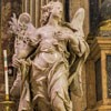 Sant'Ignazio, anioł flankujący ołtarz św. Alojzego Gonzagi, Bernardino Ludovisi