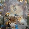 Sant'Ignazio, centralna część malowidła sklepienia - Apoteoza św. Ignacego, Andrea Pozzo