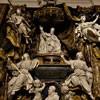 Sant'Ignazio, kaplica Ludovisi, pomnik nagrobny papieża Grzegorza XV i jego nepota Ludovica Ludovisi