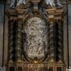 Sant'Ignazio, ołtarz św. Jana Berchmansa w lewym transepcie kościoła, proj. Andrea Pozzo