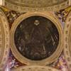 Sant'Ignazio, pozorna kopuła i malowidła w pendentywach ukazujące starotestamentowych proroków, Andrea Pozzo