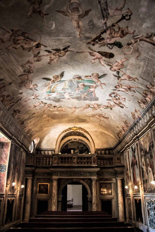 Onorio Longhi, Palazzo Altemps, Cappella di Sant'Aniceto
