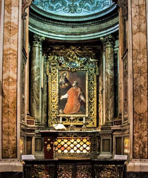 Onorio Longhi, projekt kaplicy św. Filipa Nereusza, kościół Santa Maria in Vallicella