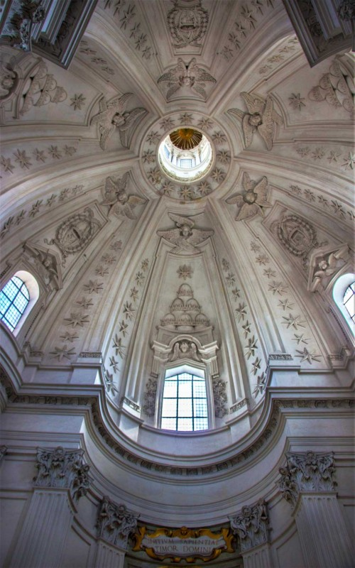 Church of Sant'Ivo alla Sapienza, church dome