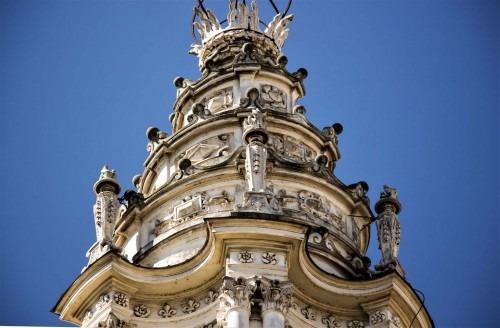 Church of Sant'Ivo alla Sapienza, roof lantern