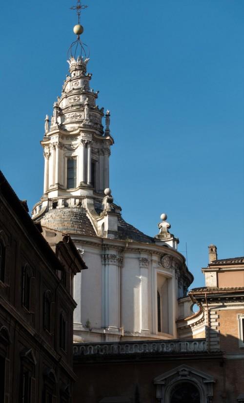 Sant'Ivo alla Sapienza, latarnia kościoła