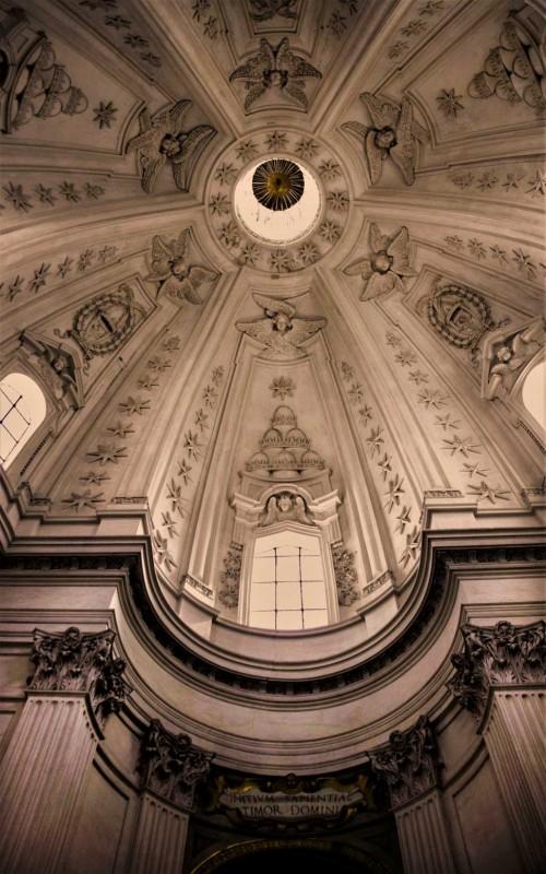 Sant'Ivo alla Sapienza, widok kopuły, Francesco Borromini