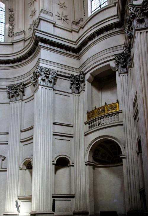 Sant'Ivo alla Sapienza, wnętrze, Francesco Borromini